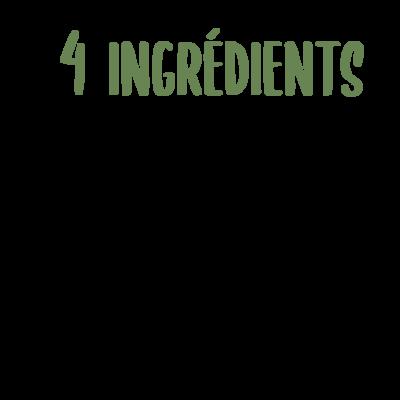menu 4 ingredients